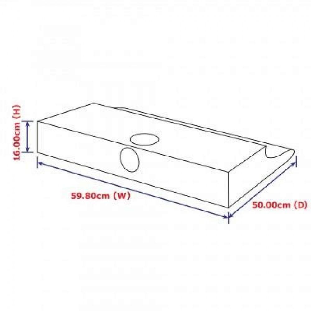 Electrolux 60cm Stainless Steel Slimline Hood (520m3/hr) | EFT6510X