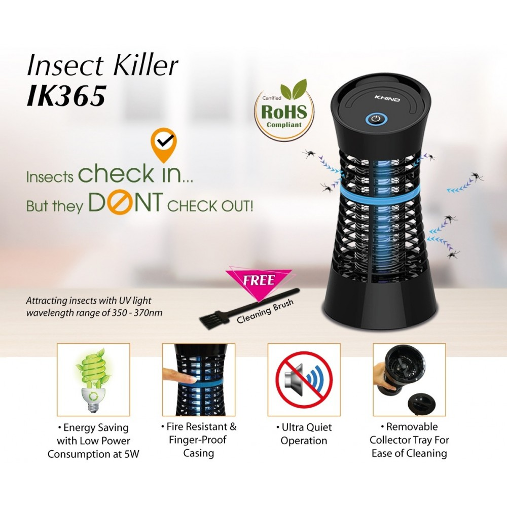 Khind Domestic Insect Killer with Energy Saving | IK365