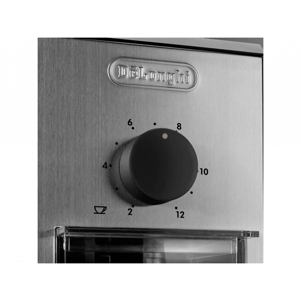 Delonghi 12 Cups Burr Coffee Grinder with Multiple Grind Settings | KG89